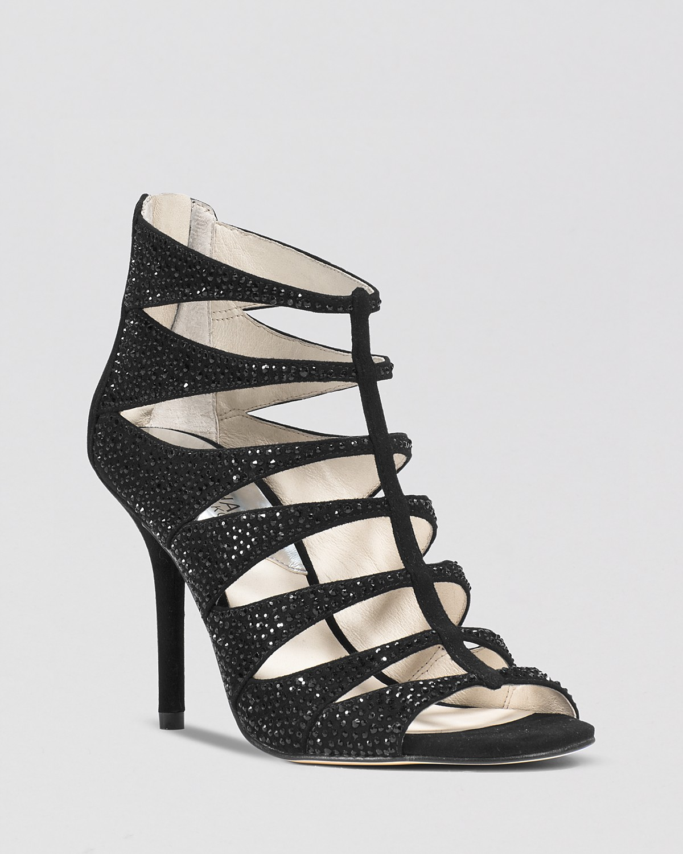MICHAEL Michael Kors Caged Evening Sandals - Mavis High Heel | Bloomingdale's