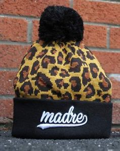 Madre Glasgow N°3 Leopard Print Cheetah Beanie Obey Dope Vans Pyrex Vision HBA | eBay