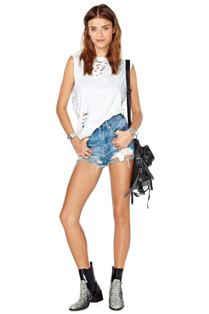 Summer Sky Cutoff Shorts | Shop Denim at Nasty Gal
