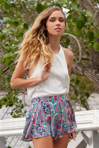 Shop Fashion Avenue - Labyrinth Shorts