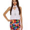 Motel betty skirt - print skirt - mini skirt - $59.00