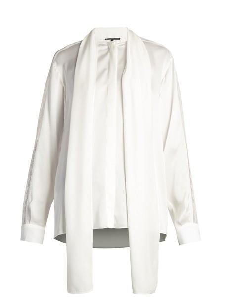 Stella McCartney blouse silk satin top