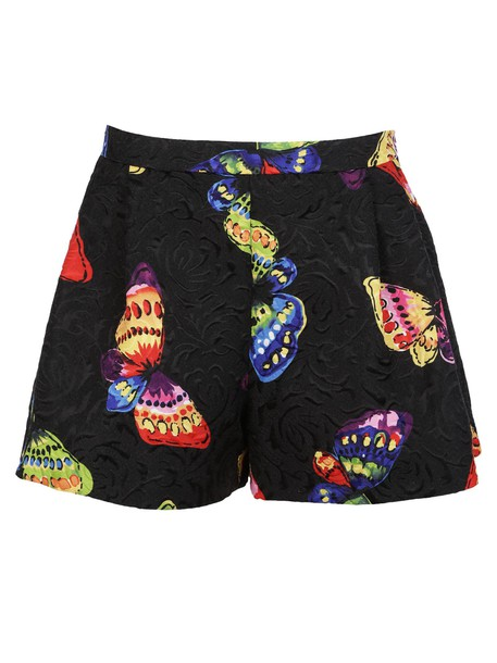 Moschino shorts butterfly print multicolor