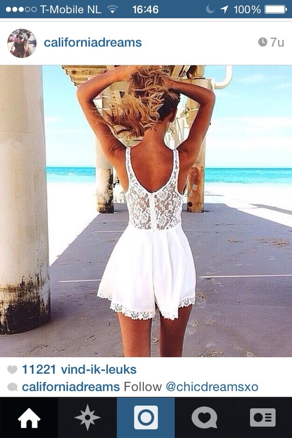 dress white lace dress white dress