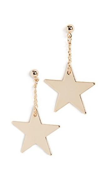 Cloverpost earrings gold jewels
