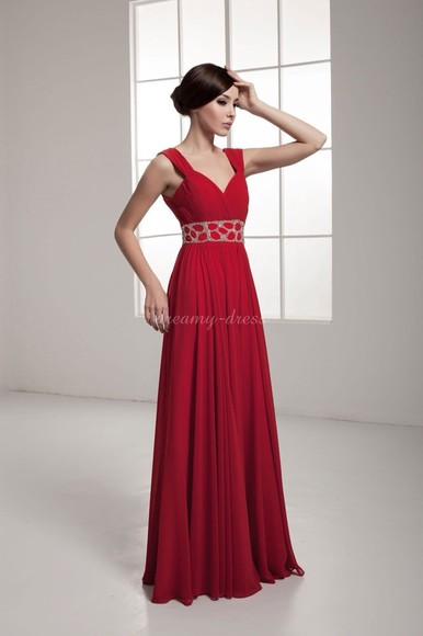 dress red red dress chiffon prom dress chiffon dress red prom dresses long prom dress beautiful red dress red prom dress red chiffon dress