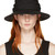 Ys Black Ribbon Cloche Hat