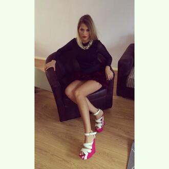 shoes high heels platform boots girly cute flats