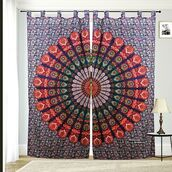 home accessory,multimatecollection,bohemian,window decor,window curtain,door curtain,shower curtain