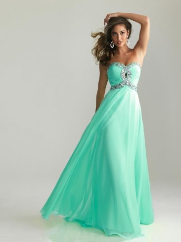 Light Blue Long Sweetheart A line Beaded Prom Dress [Light blue long prom dress] - $165.00 : Prom Dresses On Sale, 60% off Dresses for Prom Night 2013
