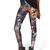 Multi Leggings/Tights - Colorful skeleton print tight leggings | UsTrendy