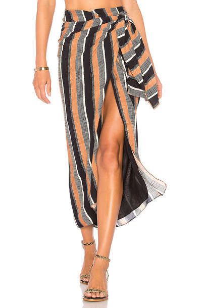 Vix Swimwear skirt brown