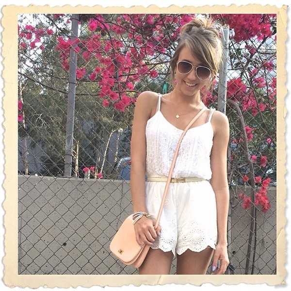 romper lace jumpsuit summer sandals cute bag open-toe beige nude strappy