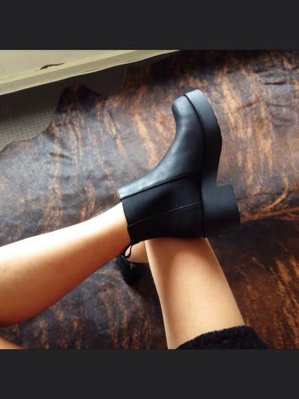 shoes black boots black shoes