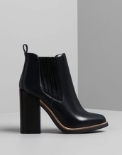 shoes,boots,shoes winter,bottines,talons,black,noir,heels,chaussures,chelsea boots