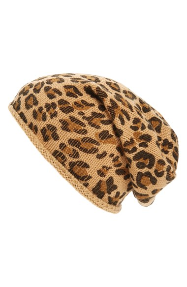 3eb86ee7a BP. Leopard Print Slouchy Beanie | Nordstrom