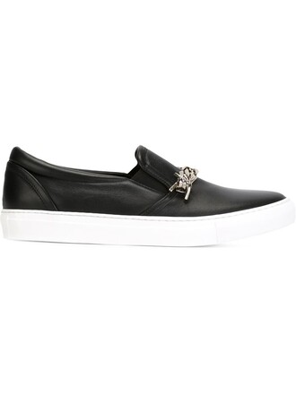 babe sneakers black shoes