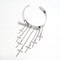 Spike cross rivet tassels chain upper arm cuff armband armlet bracelet gothic   ebay