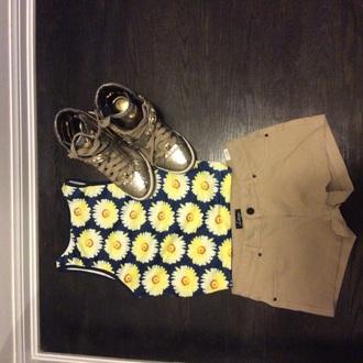 top pajamas shorts shoes