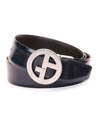 belt logo belt black belt leather belt silver armani