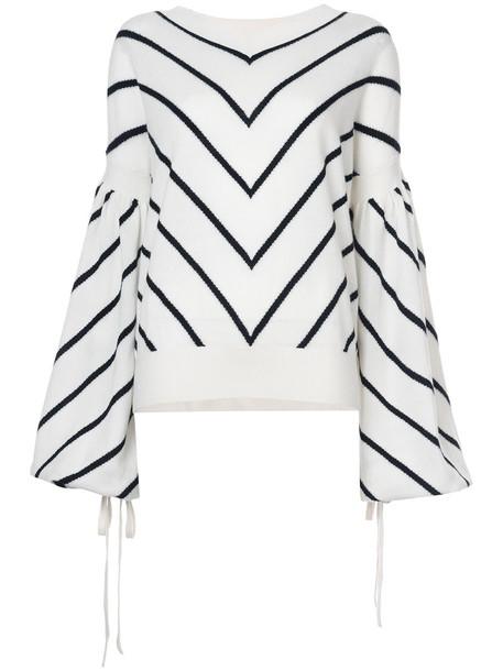 Zimmermann sweater women white wool