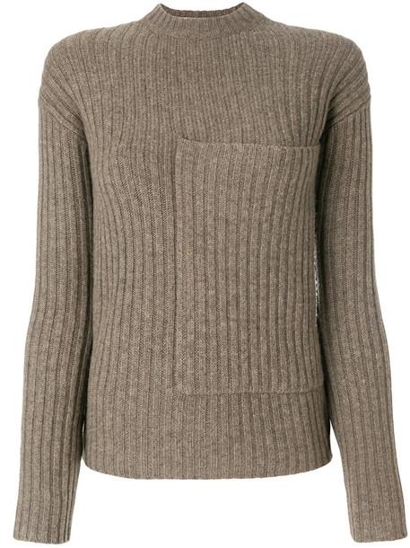 Joseph jumper women wool brown sweater