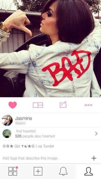 jacket denim jacket bad