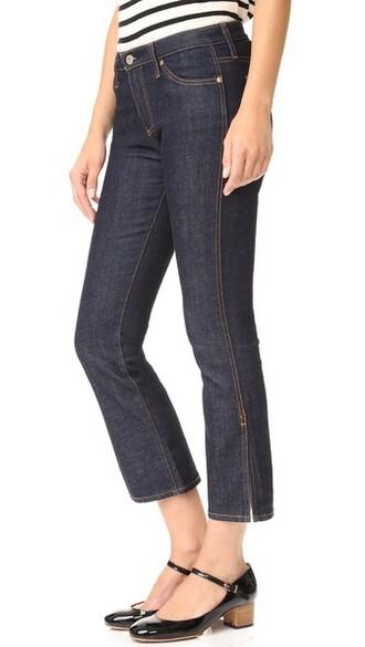 jeans slit