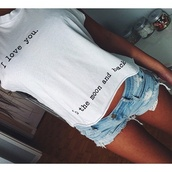 t-shirt,love quotes,love,fashion,cool,cool girl style,outfit,shirt,i love you,moon