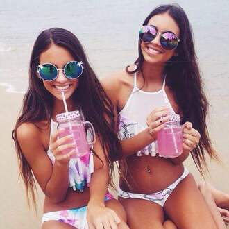 swimwear white swimwear sunglasses