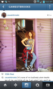 jeans,crystal westbrooks