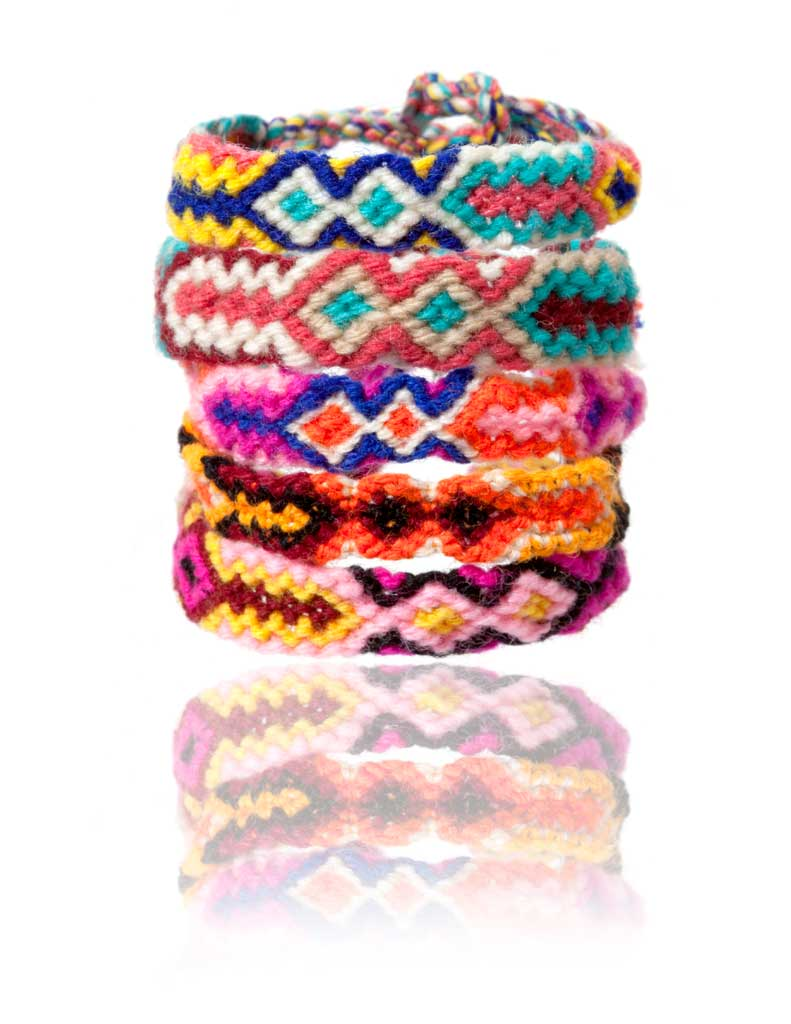 Producto: pack 5 pulseras colores