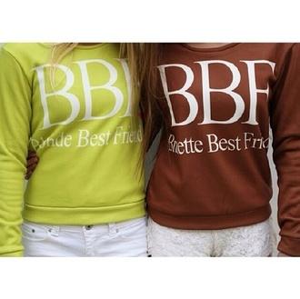 shirt swagirl bestfriend sweatshirt