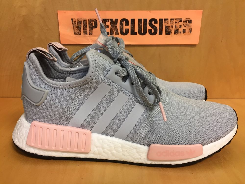 Adidas NMD R1 W Grey Vapour Pink Light Onix Women's Nomad
