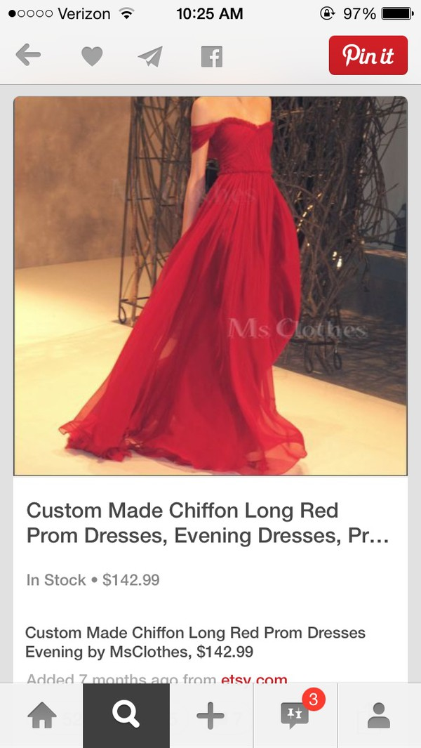 red dress dress prom dress clothes