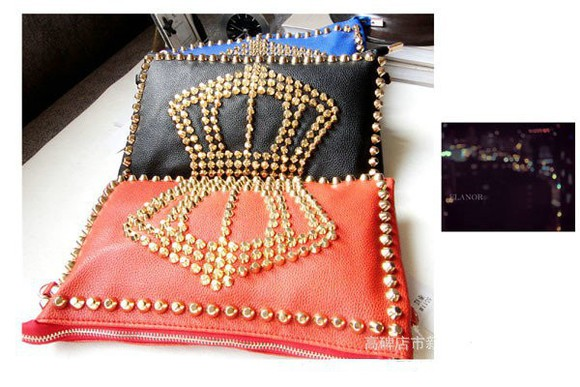 bag stud studded handbag