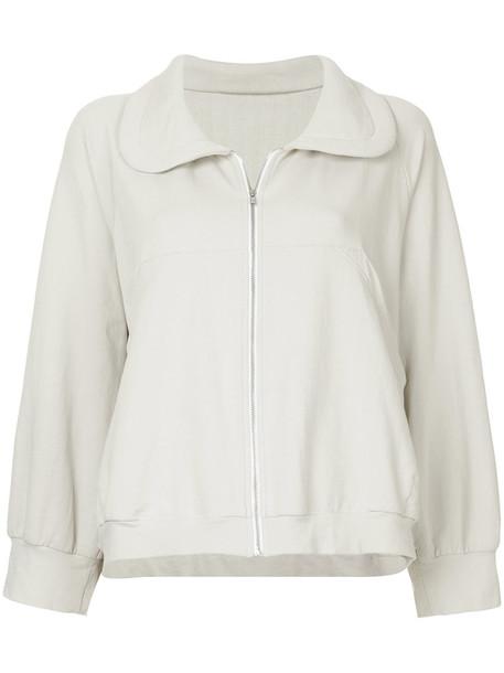 Zambesi - training sweatshirt jacket - women - Cotton/Spandex/Elastane - 2, Nude/Neutrals, Cotton/Spandex/Elastane