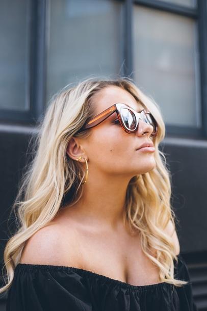 Jewels Tumblr Jewelry Earrings Hoop Earrings Gold Earrings Gold Jewelry Ring Nose Ring Sunglasses Wheretoget