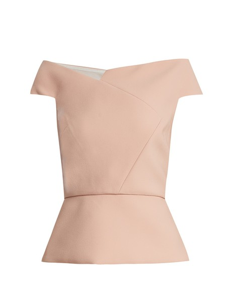 Roland Mouret top light pink light pink