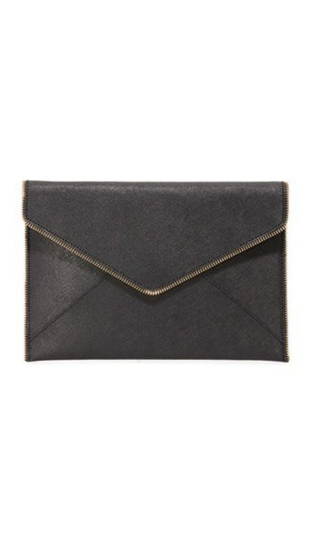 Rebecca Minkoff clutch black bag