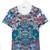 Young Versace - teen floral print T-shirt - kids - Cotton/Spandex/Elastane - 14 yrs