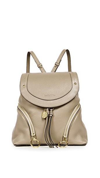 See by Chloe backpack grey bag