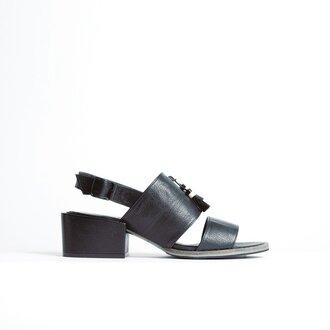 shoes thick heel sandals medium heels