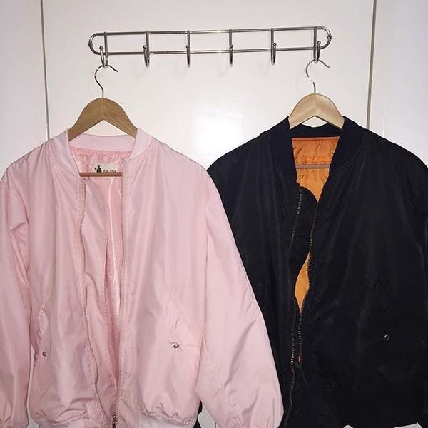 Výsledek obrázku pro bomber jacket tumblr