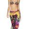 Agua bendita grove scarf   floral bikini coverup