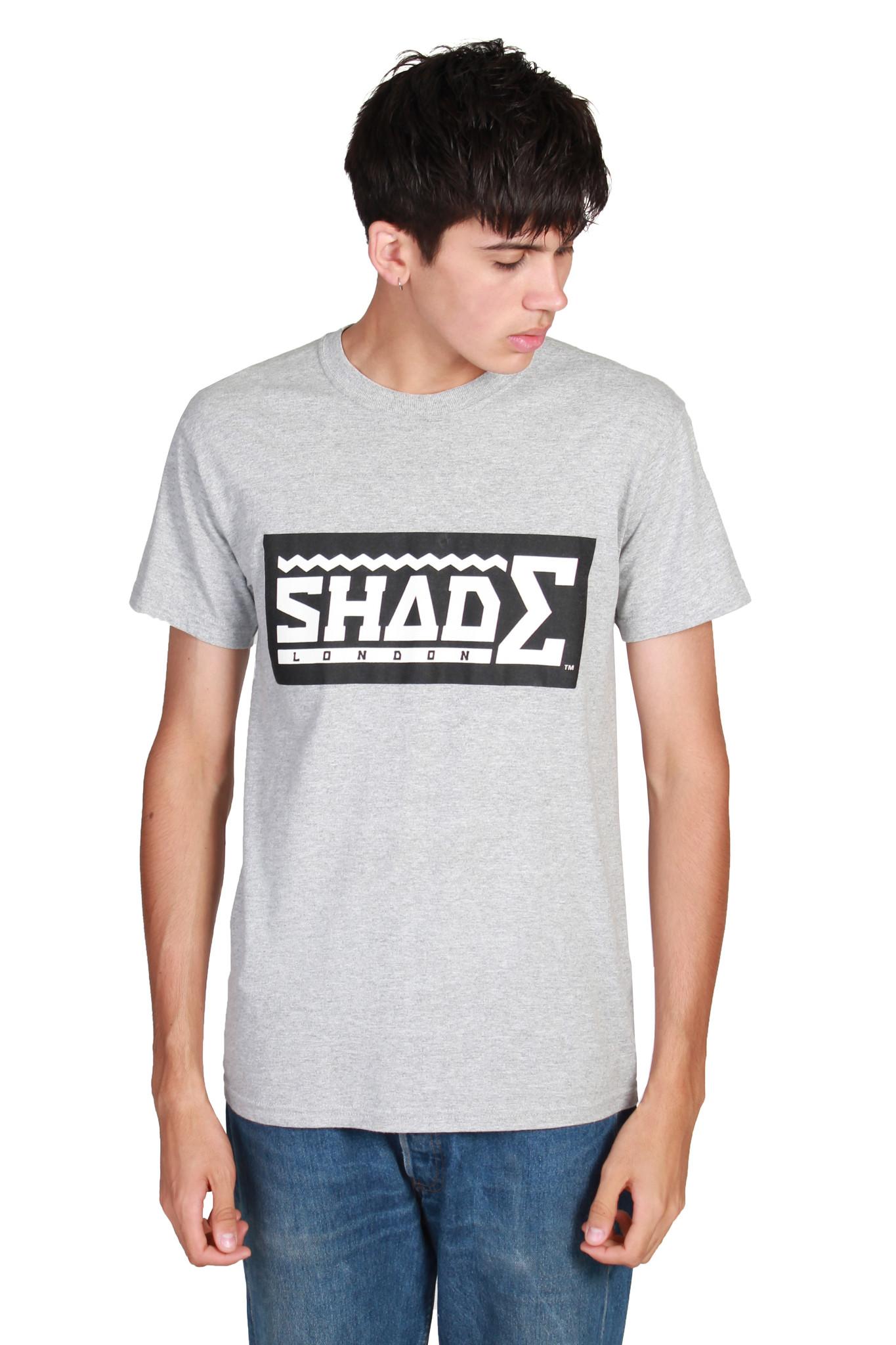 Shade short sleeved tshirt / grey ? shade london