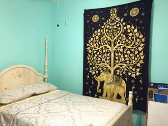 home accessory tapestry mandala magical night star mandala tapestry wall tapestry wall decor ganesha tapestry