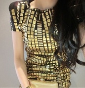 dress,gold,glamour,beautiful,chic,pretty,cute,love more,love,lovely,amazing