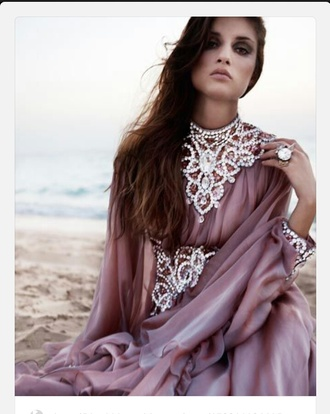 dress rhinestones pink lilac maxi dress fashion style elegant classy elegant dress