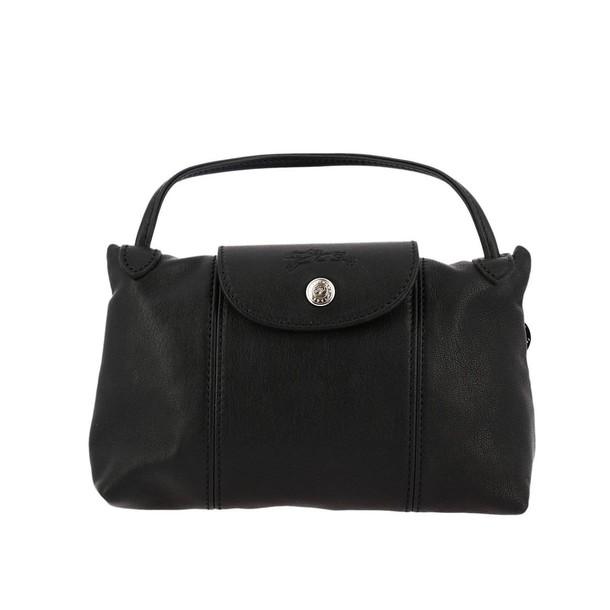 Longchamp women bag shoulder bag black